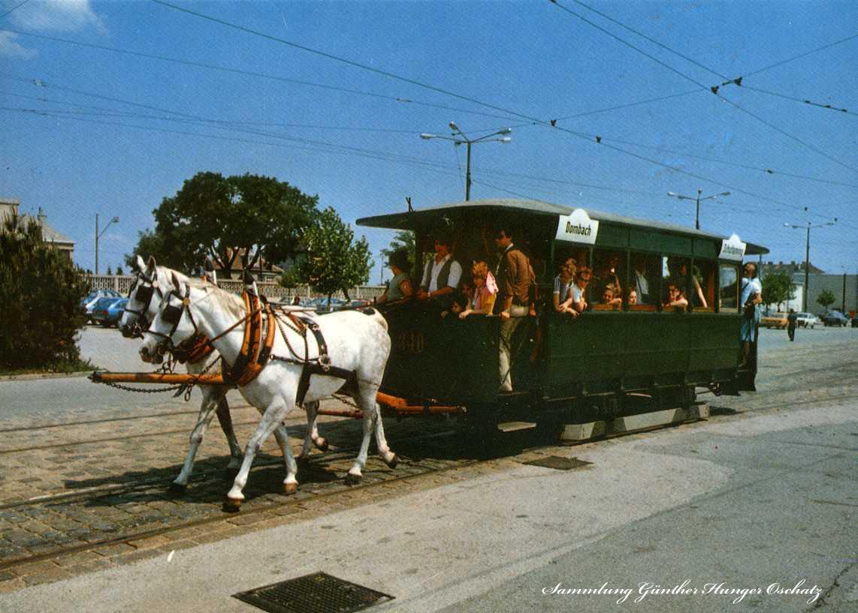 Pferdetramwaywagen Nr 340 Baujahr 1871