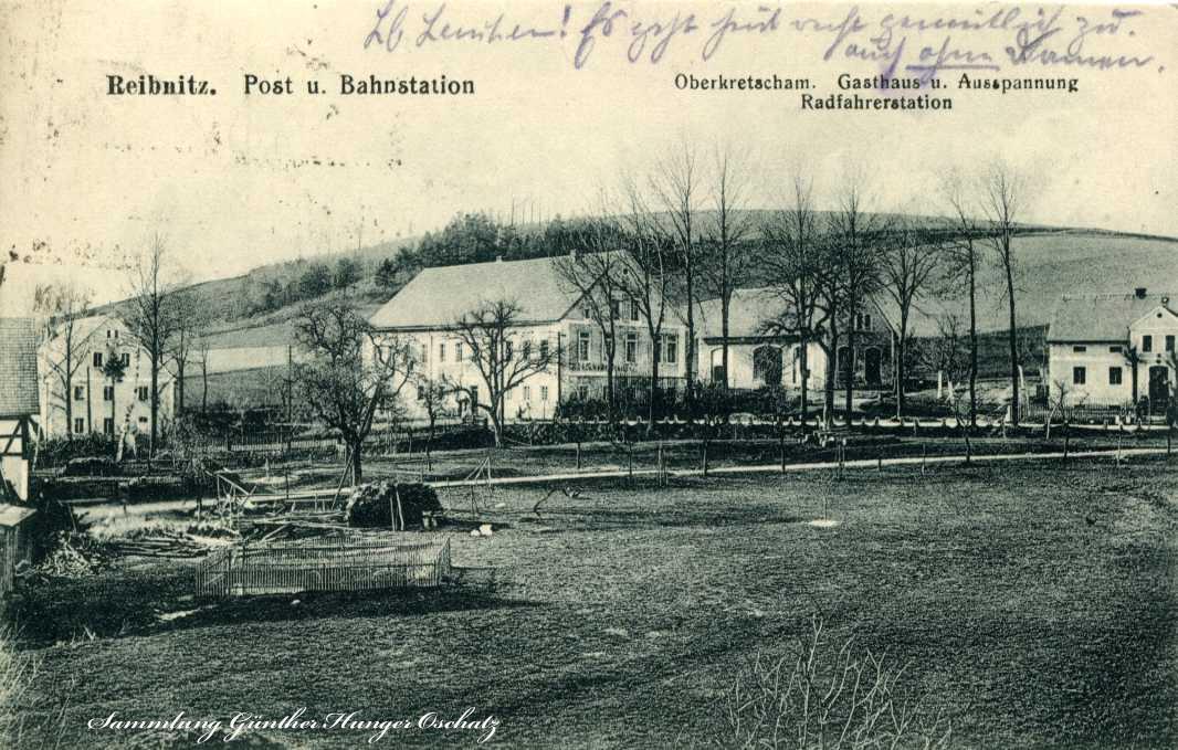 Reibnitz Post-und Bahnstation