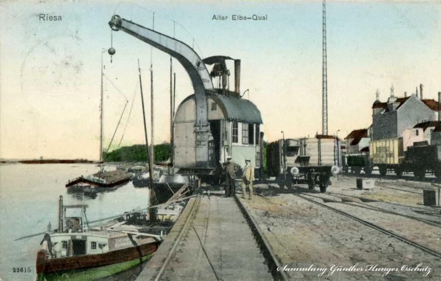 Riesa Alter Elbe-Qai