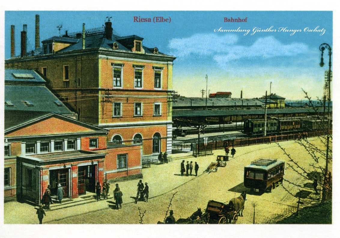 Riesa Elbe Bahnhof