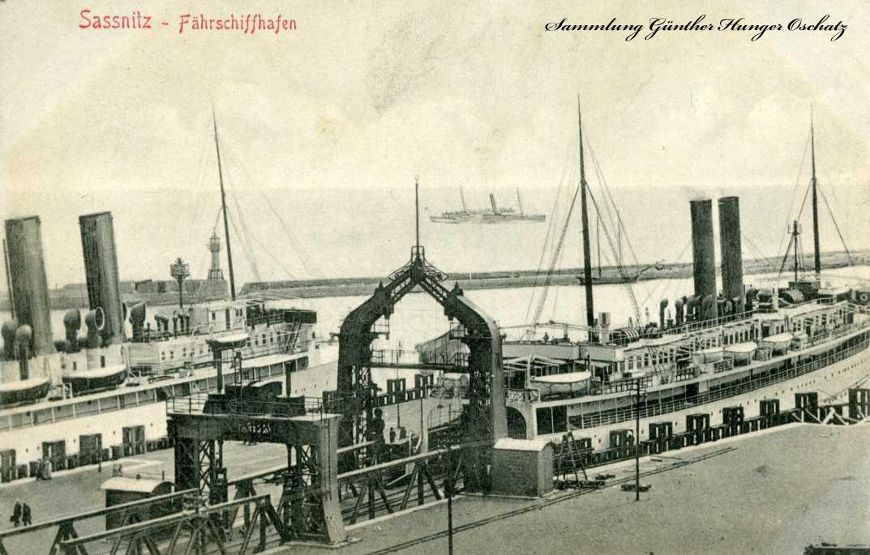 Sasnitz Fährhafen