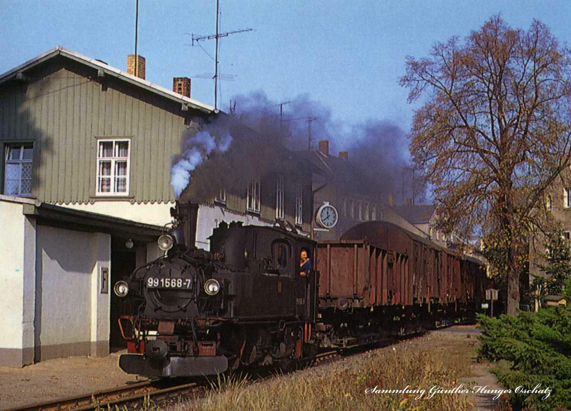 Schmalspurbahn Oschatz-Mügeln Kenmmlitz Oschatz Süd