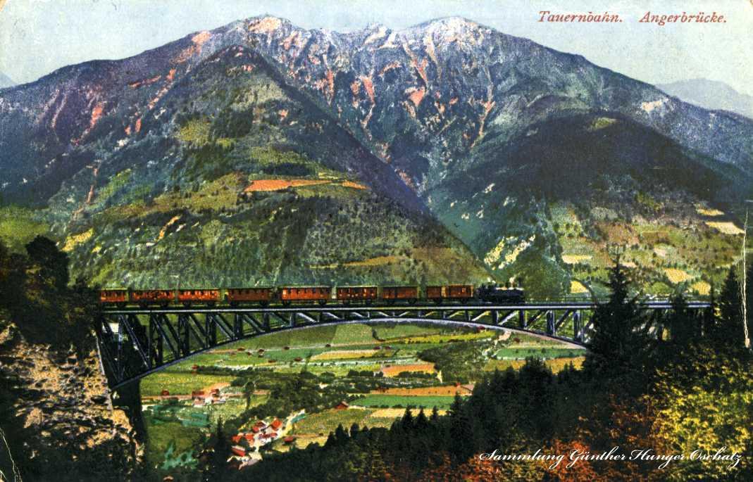 Tauernbahn Angerbrücke