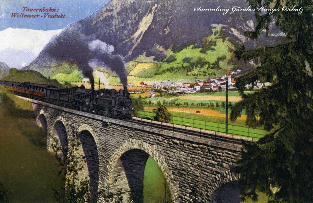 Tauernbahn Weitmoser-Viadukt