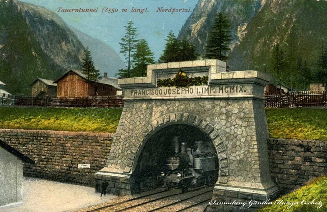 Tauerntunnel Nordportal