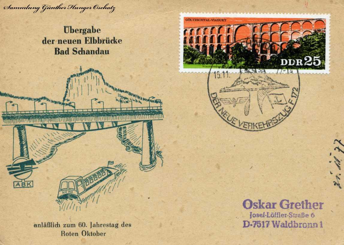 Übergabe der neuen Elbrücke Bad Schandau