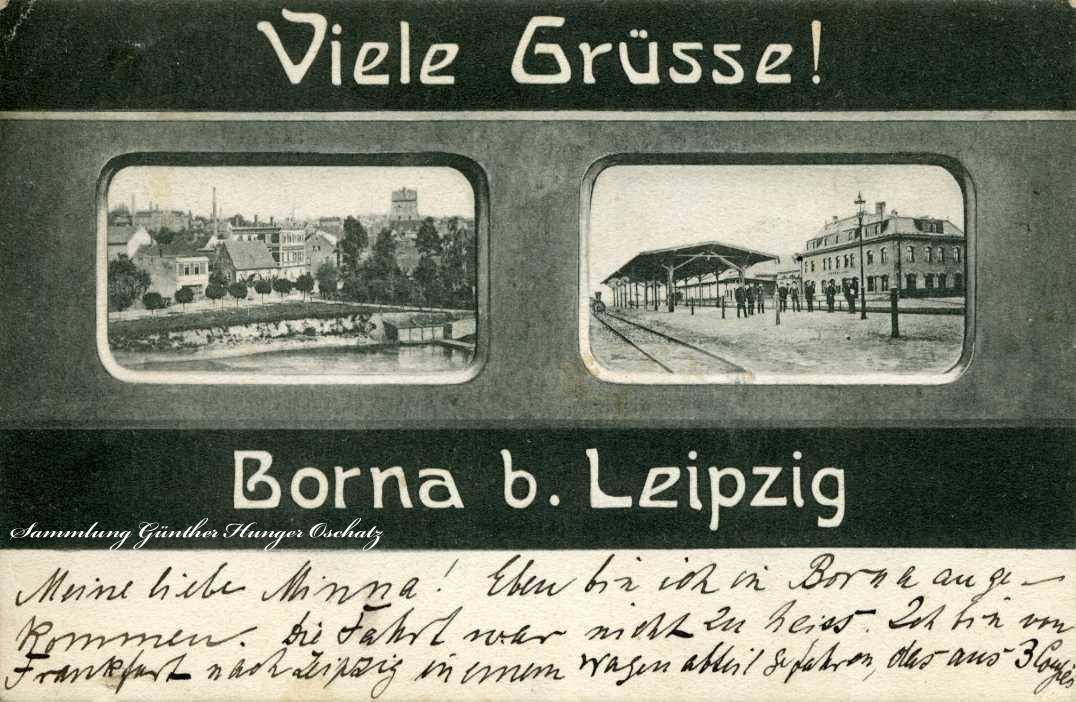 Viele Grüsse Borna b. Leipzig