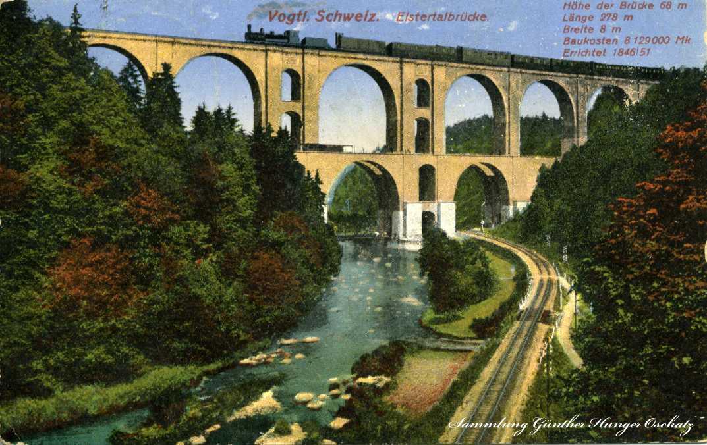 Vogtl. Schweiz Elstertalbrücke