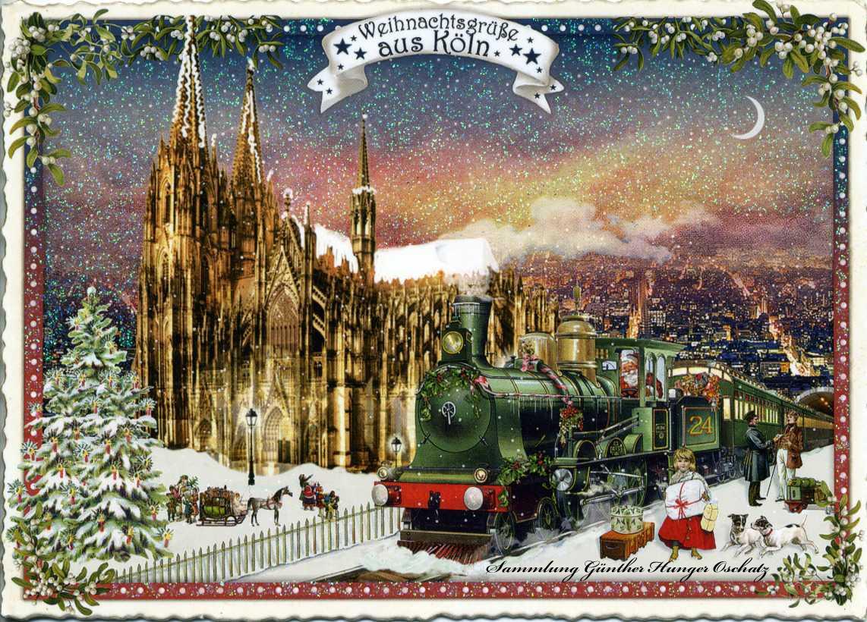 Weihnachtsgrüße aus Köln