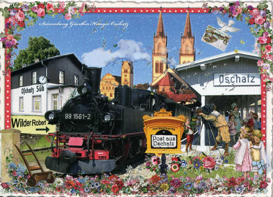 Herzliche Grüße aus dem Eisenbahn-Postkarten-Museum