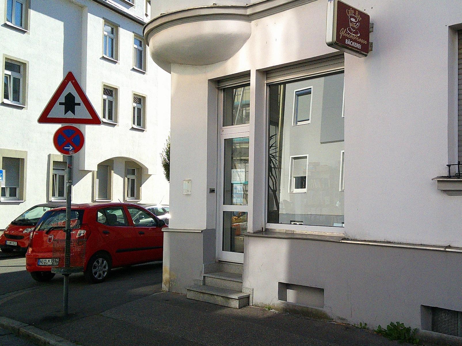 Geschäftsstelle außen