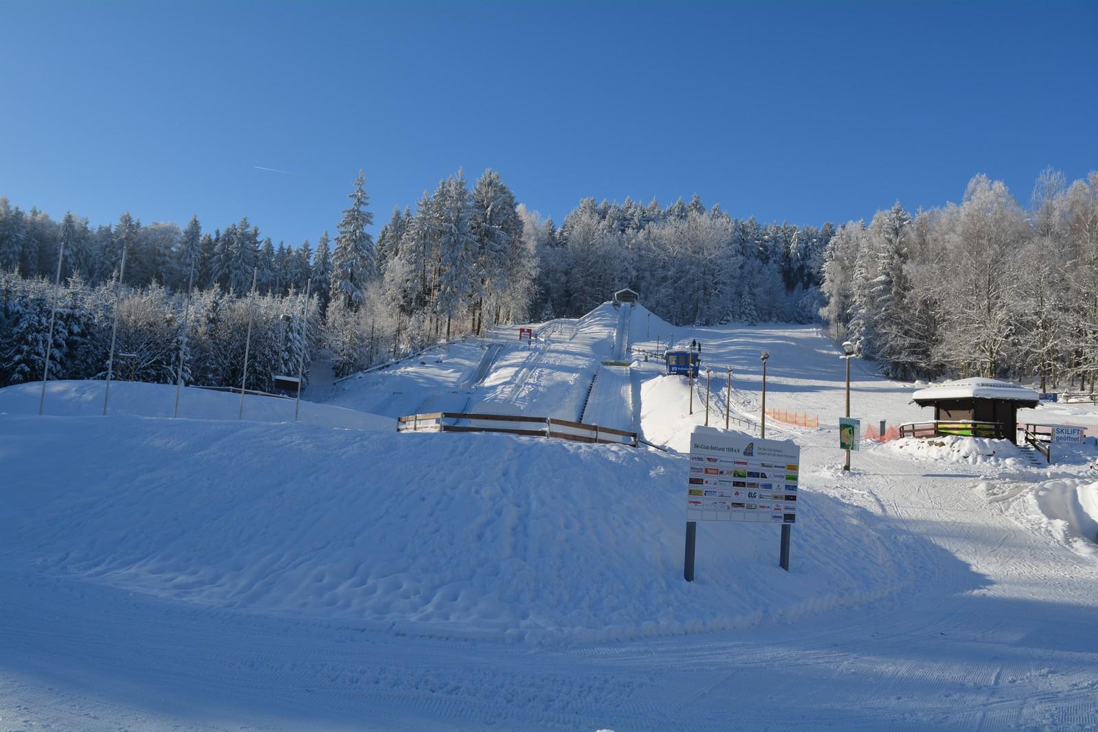 Ski Areal im Tännicht