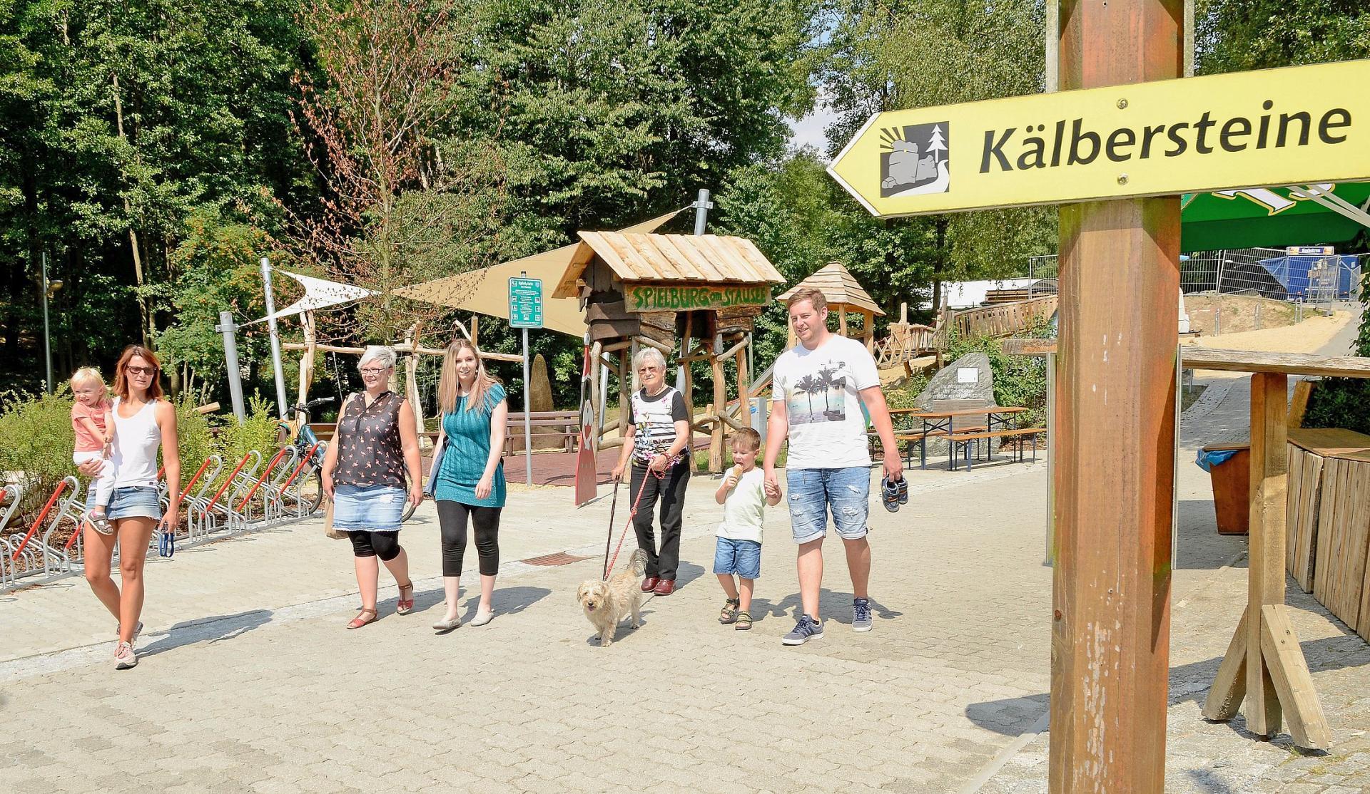 Wanderstart am Stausee in Sohland a.d. Spree Foto:Uwe Schwarz