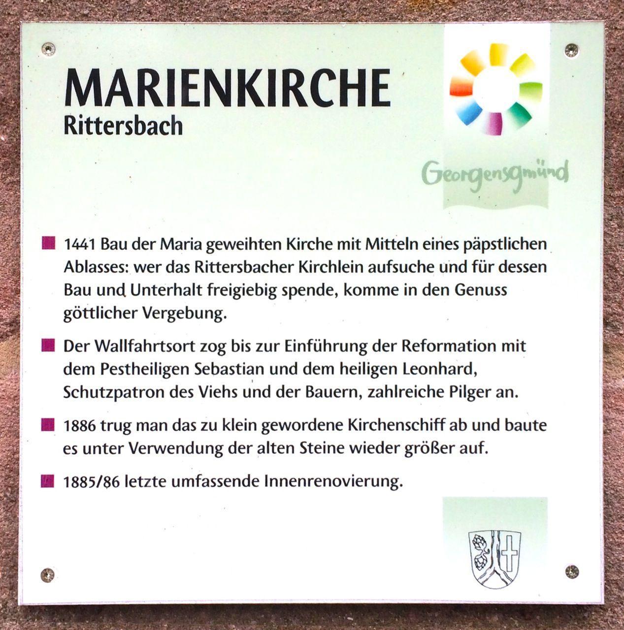 Geschichte Marienkirche kurz