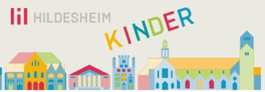 Hier geht es zur Kinderseite der Stadt Hildesheim