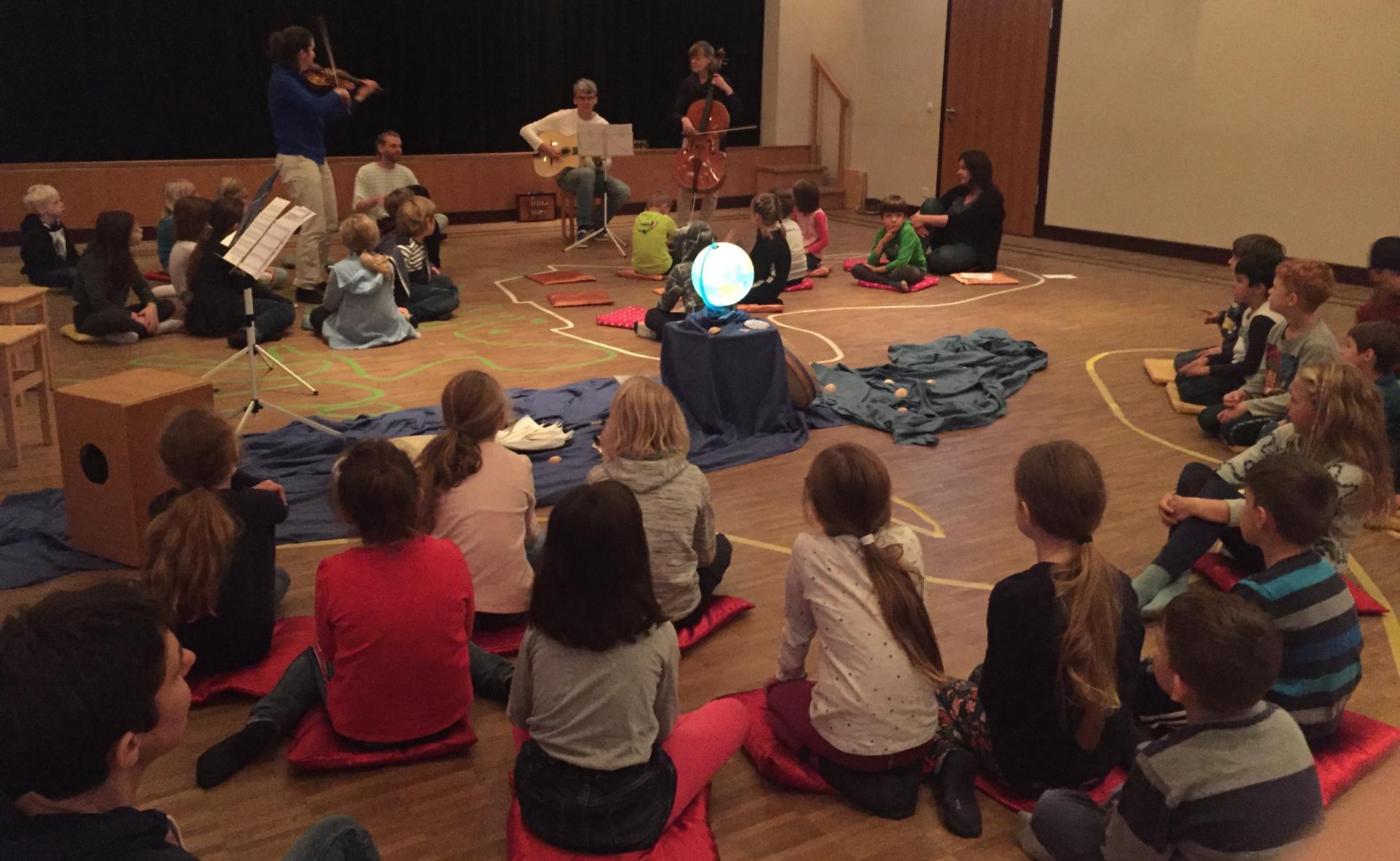 Konzert in der Musikschule 3c