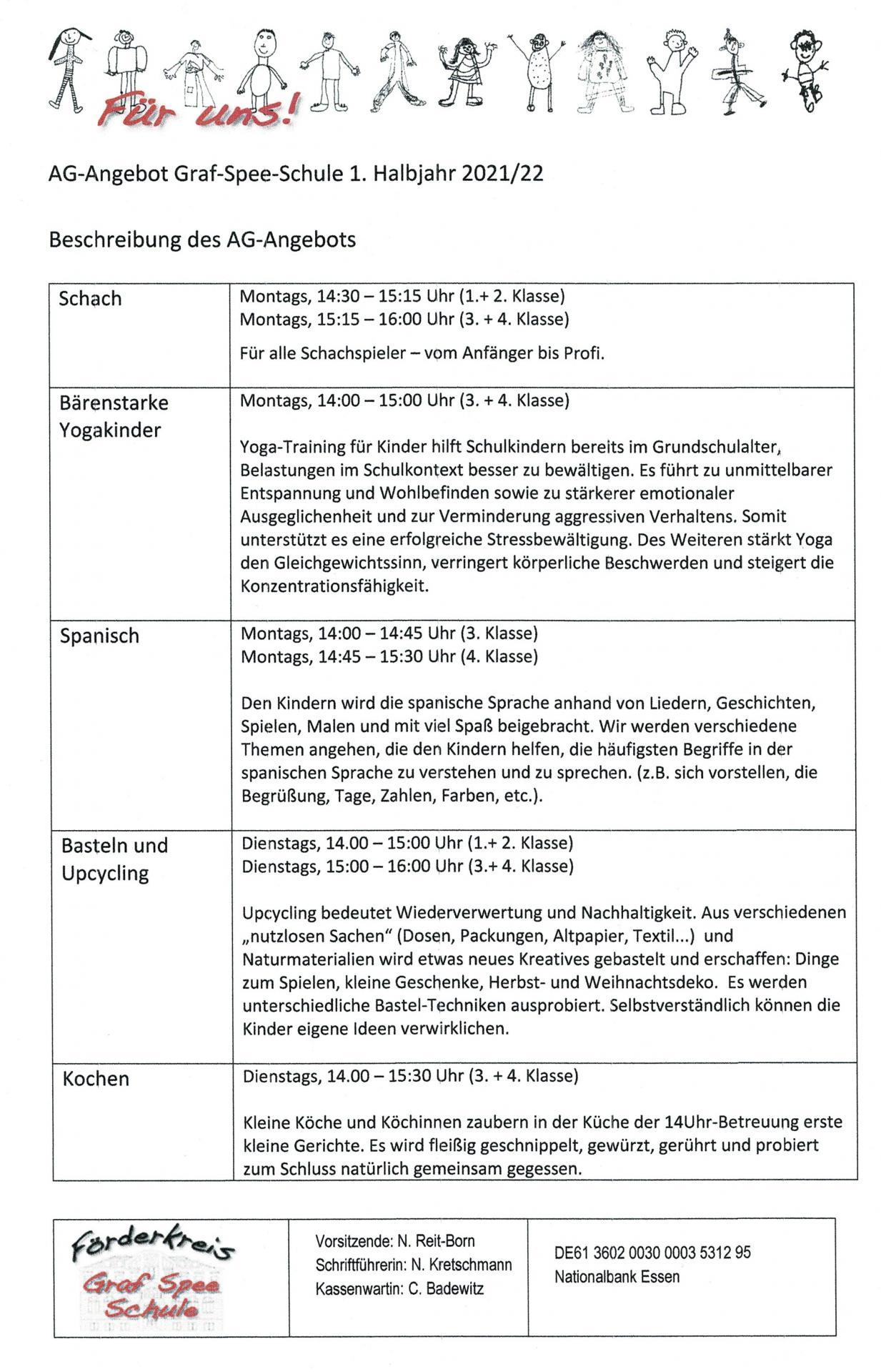 Beschreibung AG 2021/22