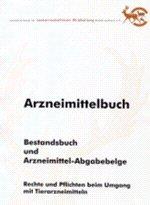 Arzneimittelbuch - Bestandsbuch