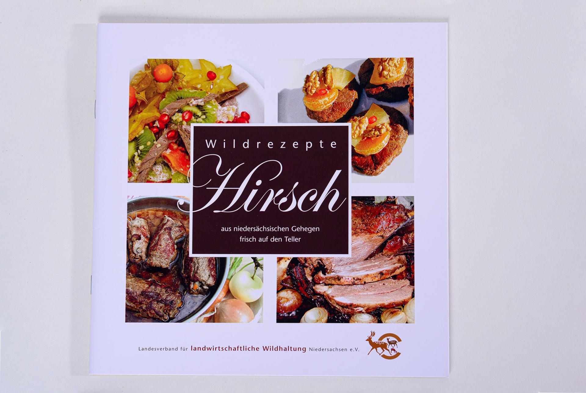 Rezeptheft: Hirsch - Wildrezepte