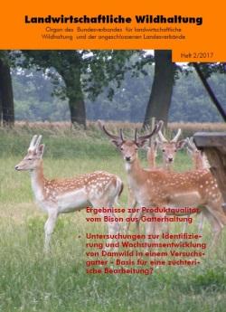 """Probeheft der Zeitschrift """"Landwirtschaftliche Wildhaltung"""""""