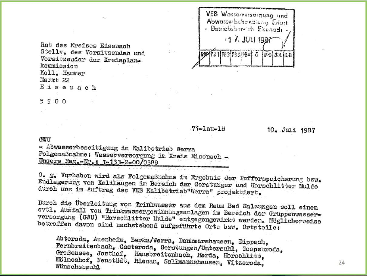 Text Trinkwasservers.Thüringen