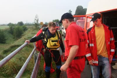 Personensuche in der Weser