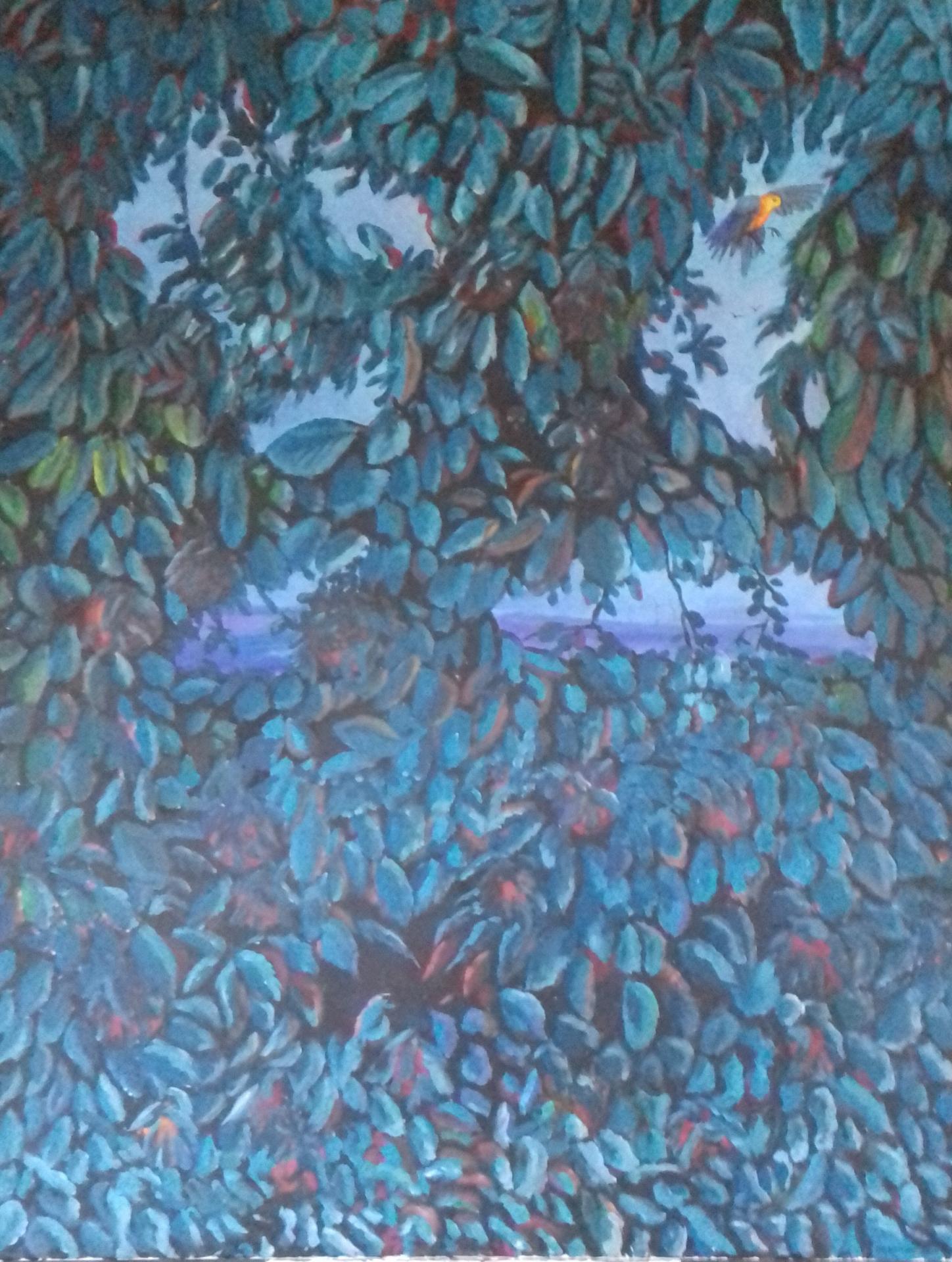 Der Apfelbaum   2020   Acryl auf Leinwand 155 x 120 cm