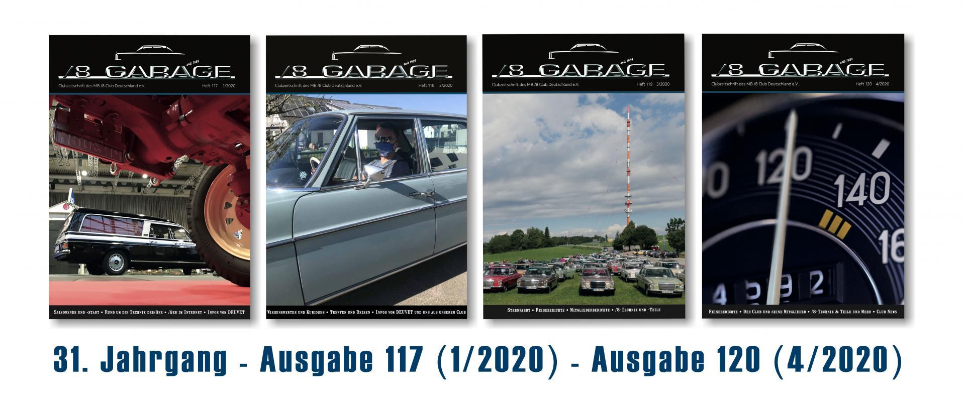 Garage Jahrgang 2020
