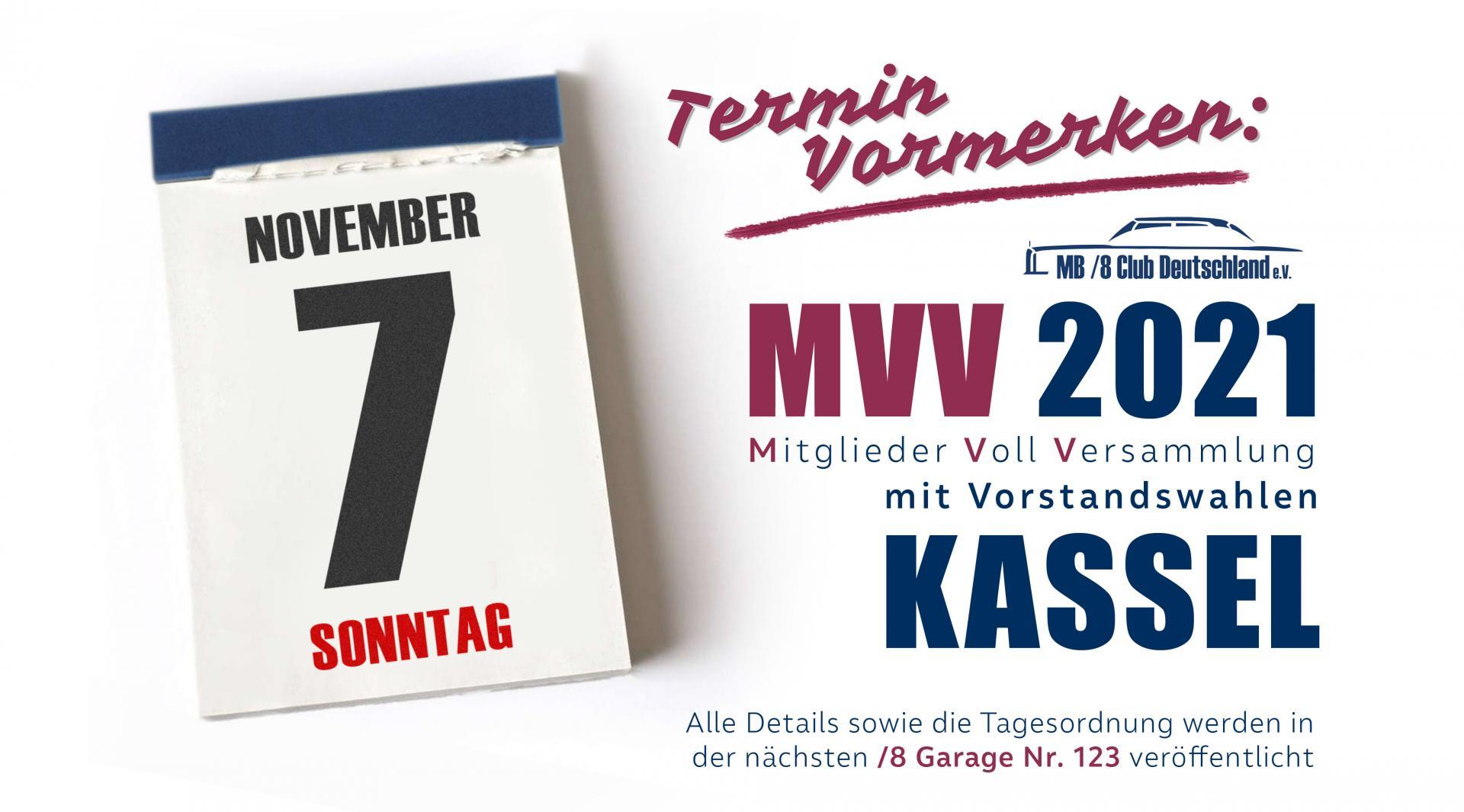 Termin MVV 2021