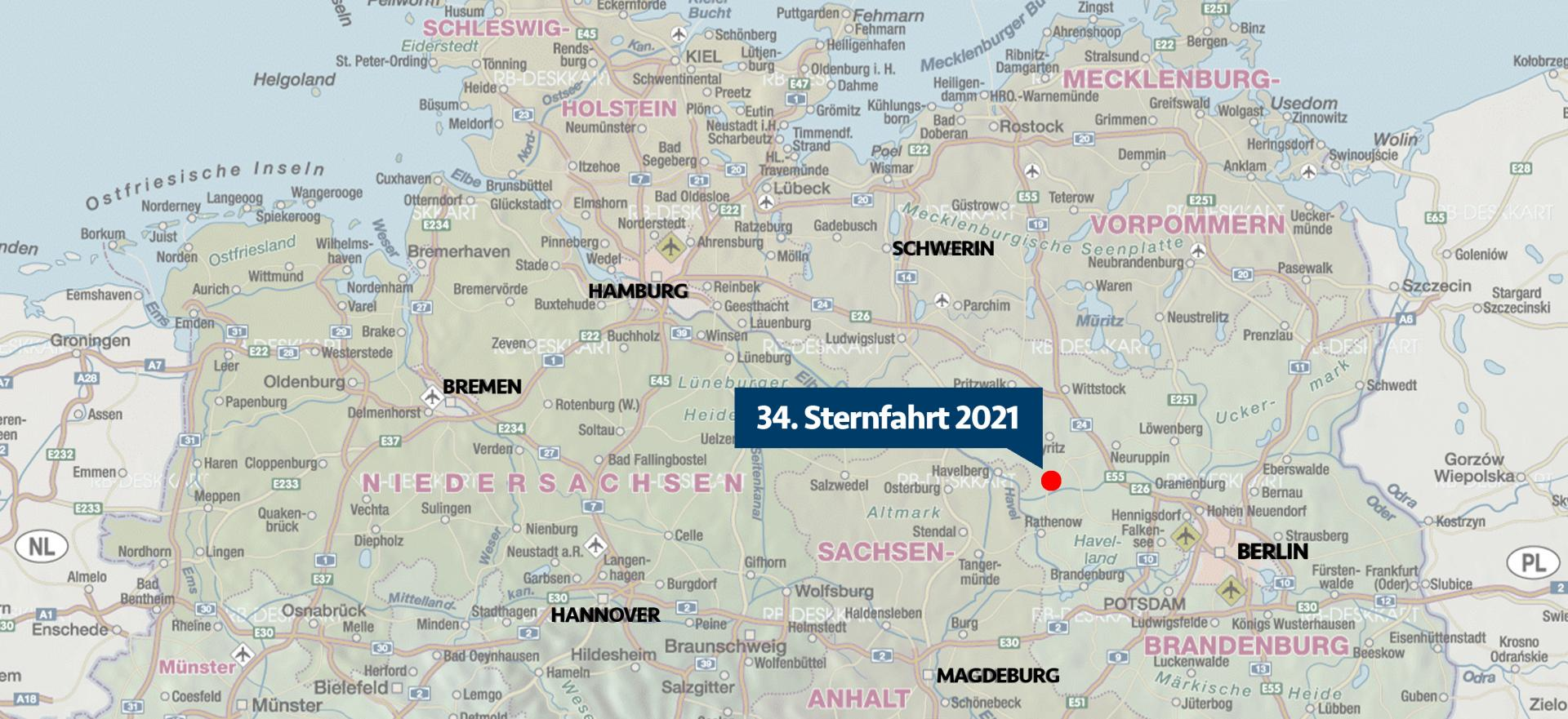 Lage Sternfahrt 2021