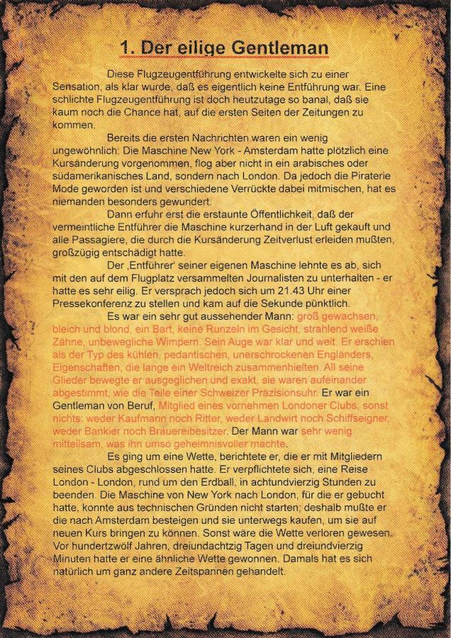 1. Literatur-Rätsel - A