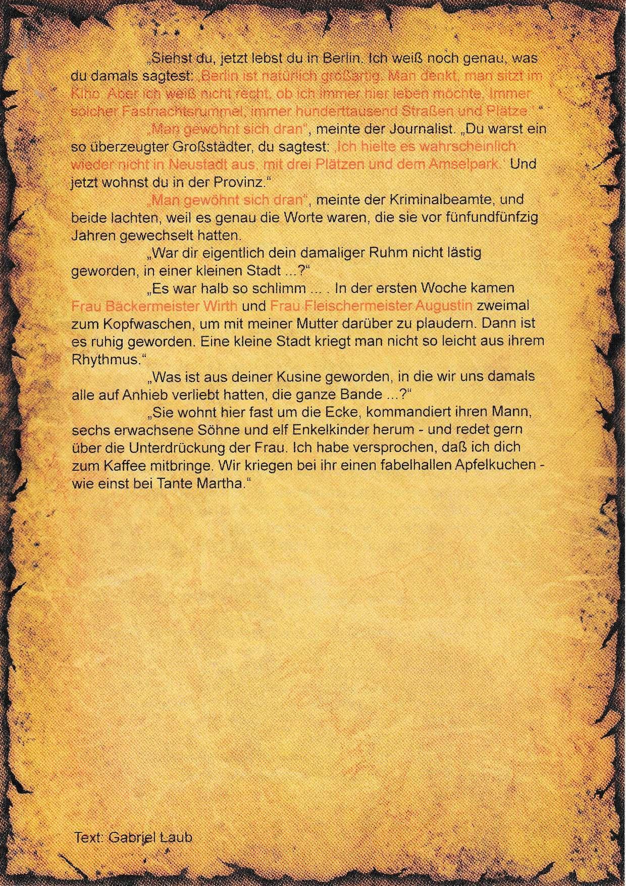 5. Literatur-Rätsel - B
