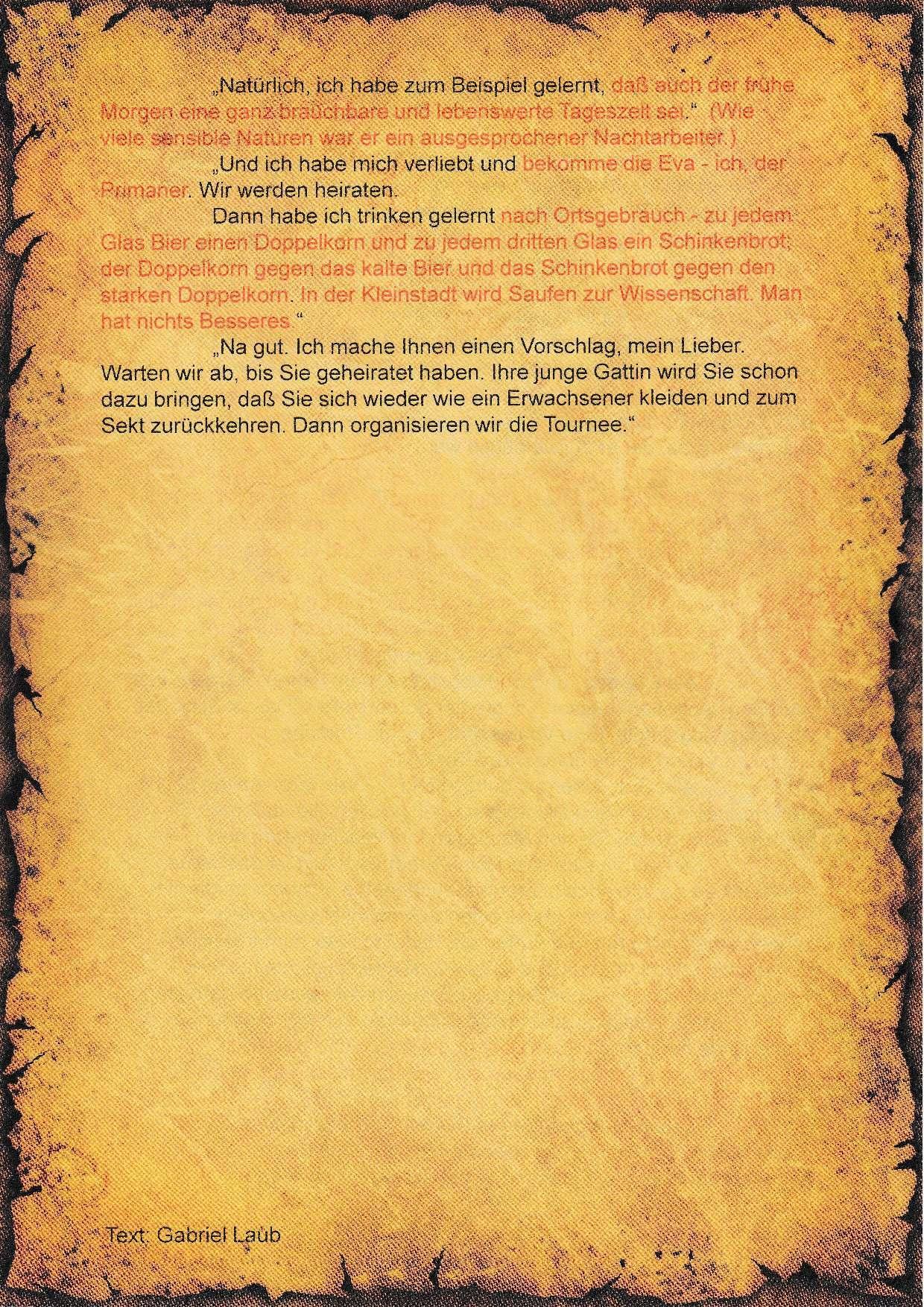 7. Literatur-Rätsel - B
