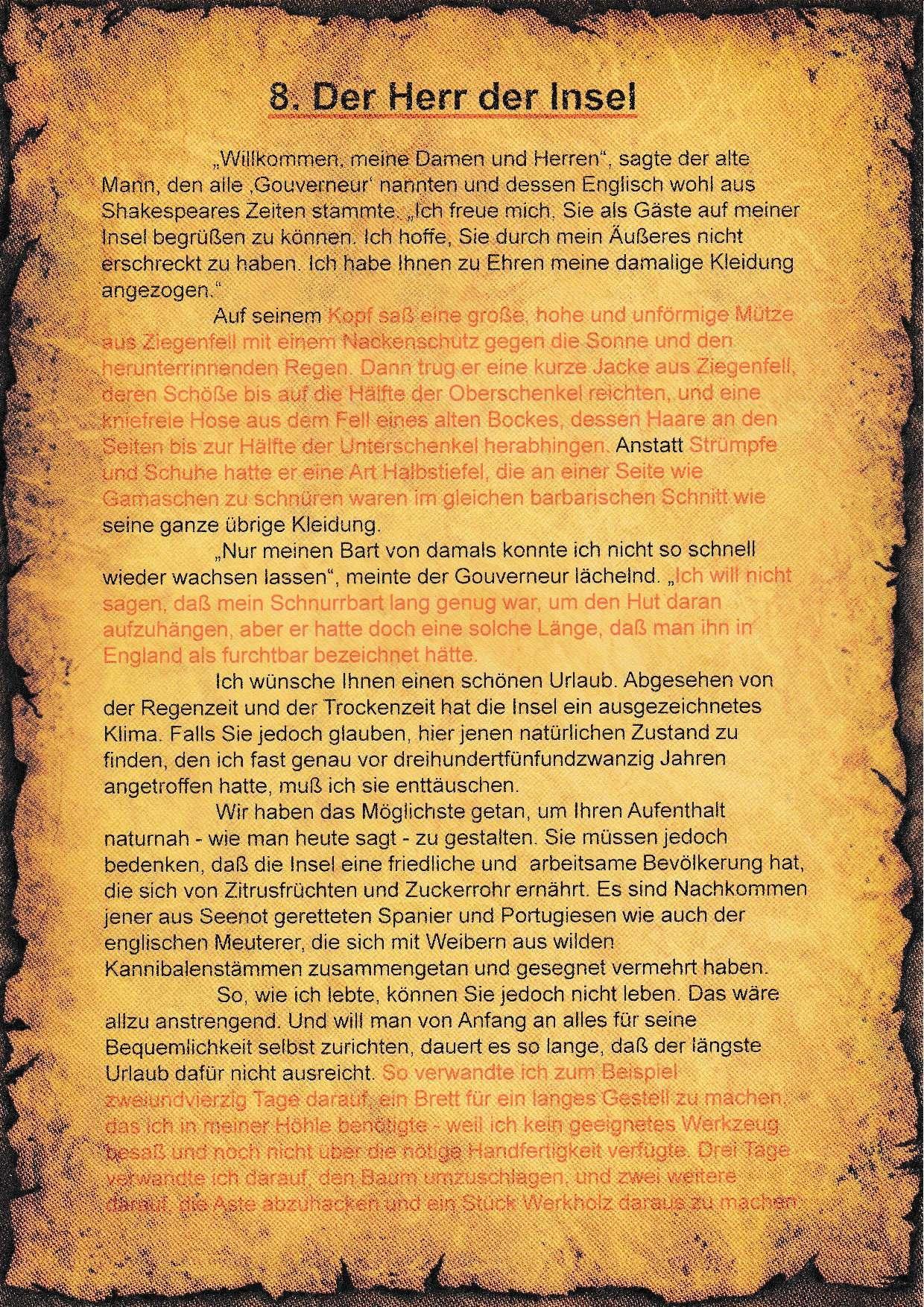 8. Literatur-Rätsel - A