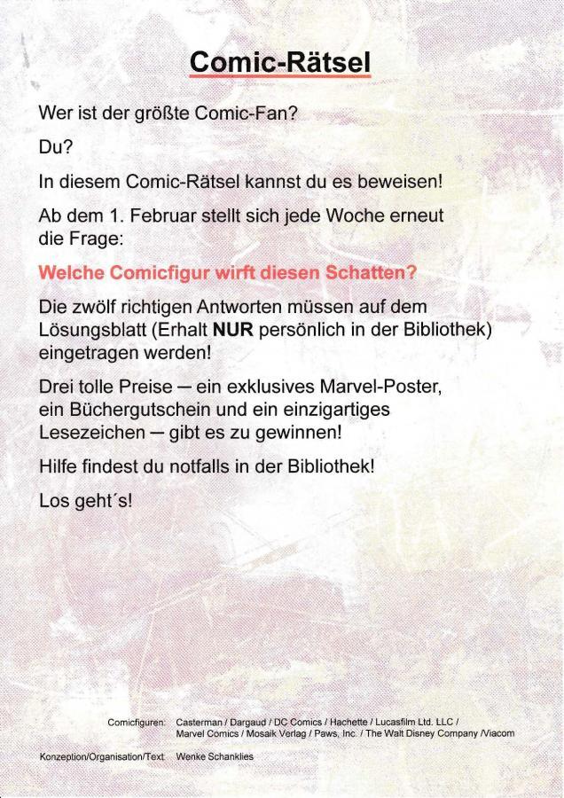A. Comic-Rätsel