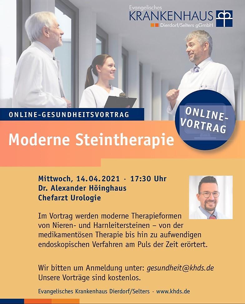 moderne steintherapie