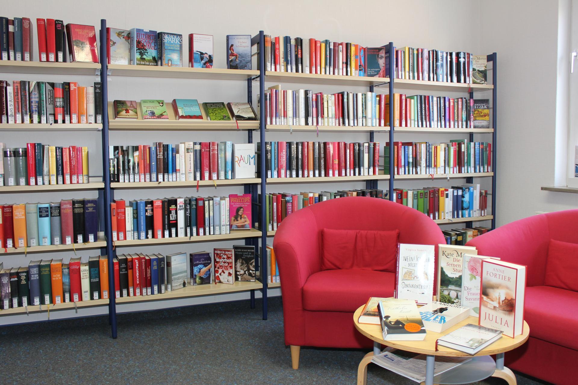 Bücherei Leseecke