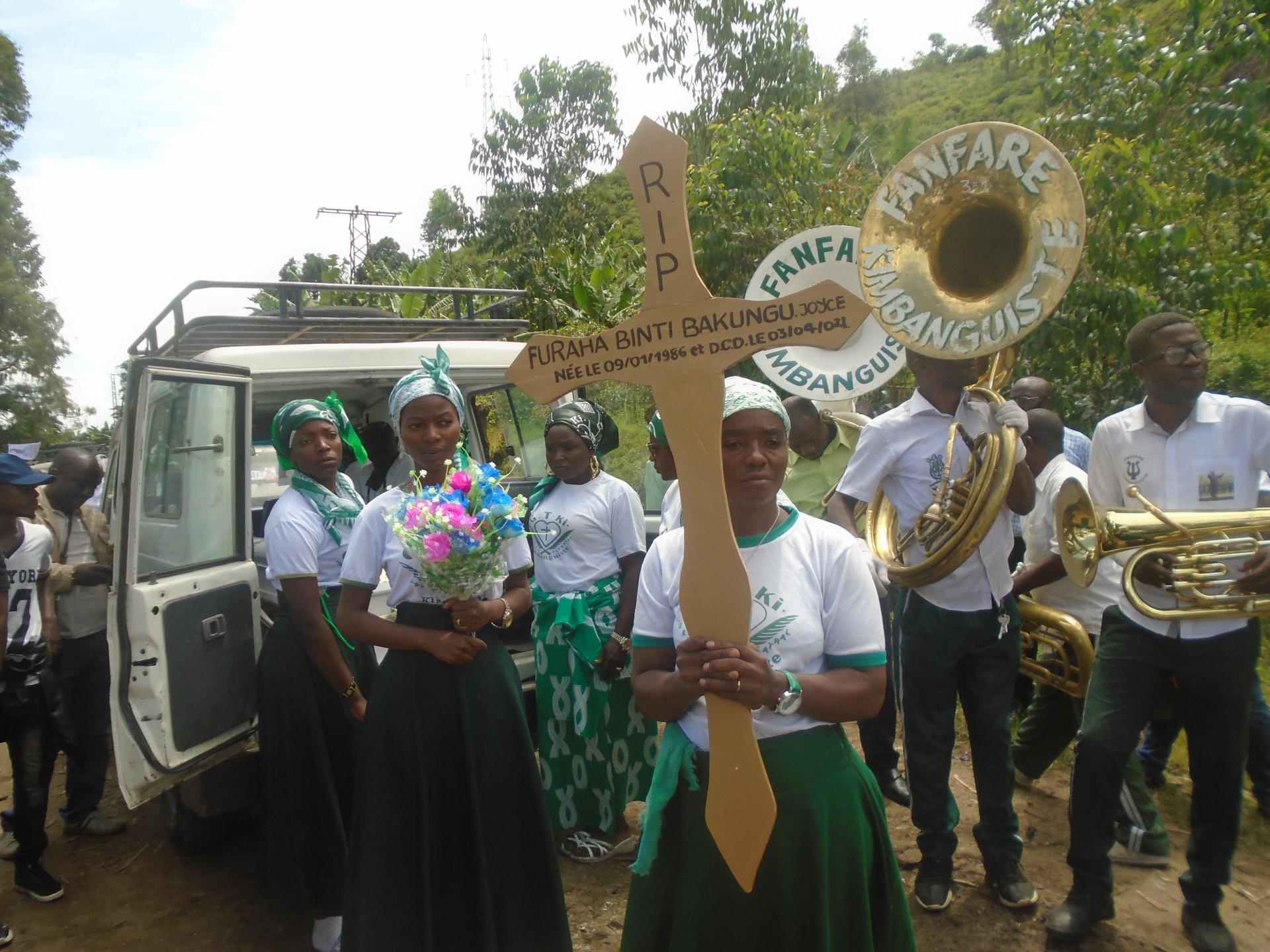 Joyce Beerdigung