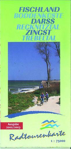 Radtourenkarte Fischland