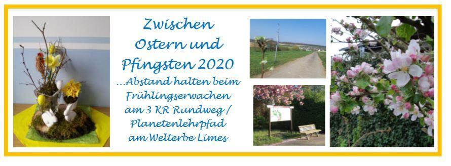 Wander-/Radtouren zwischen Ostern und Pfingsten 2020