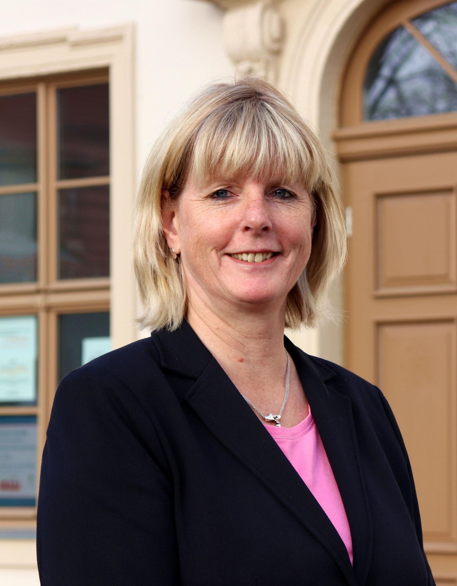 Bürgermeisterin Steffi Friedebold