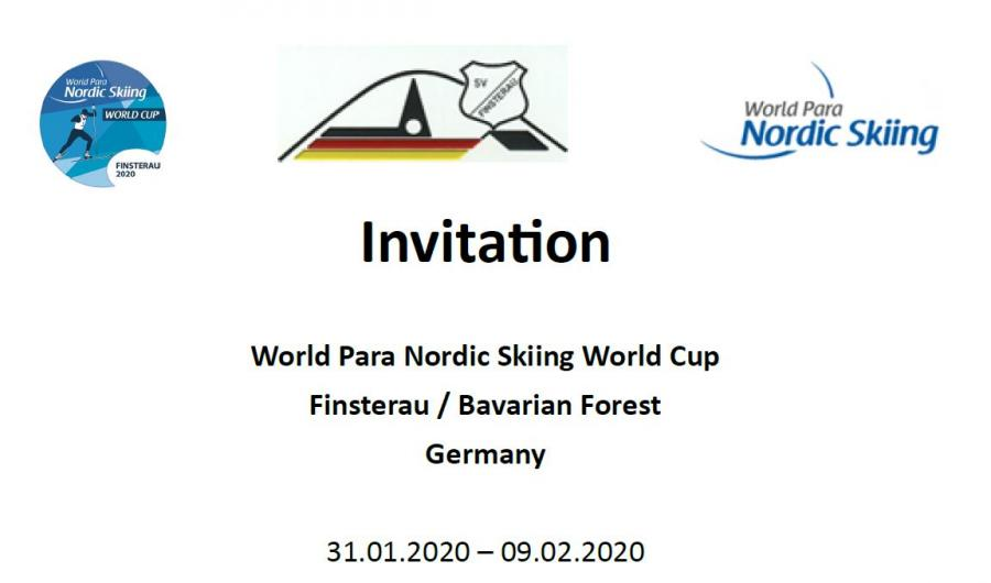 Invitation Weltcup 2020 Finsterau