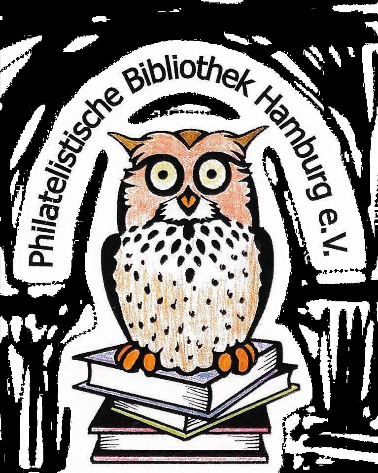 Logo Philatelistische Bibliothek Hamburg e.V.