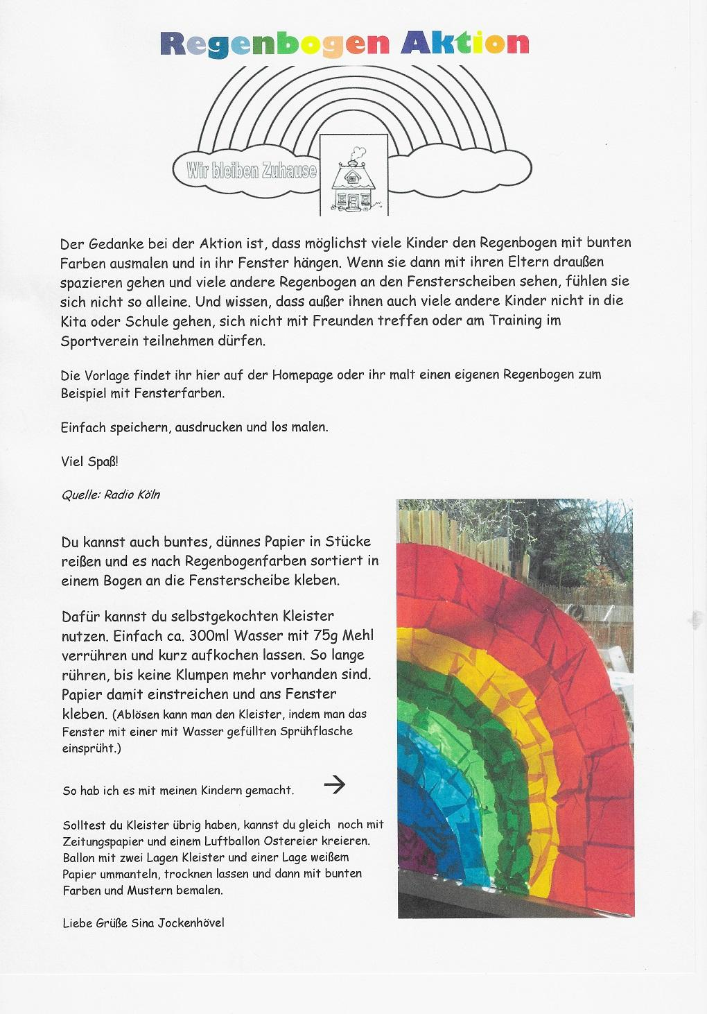 Aktion Regenbogen