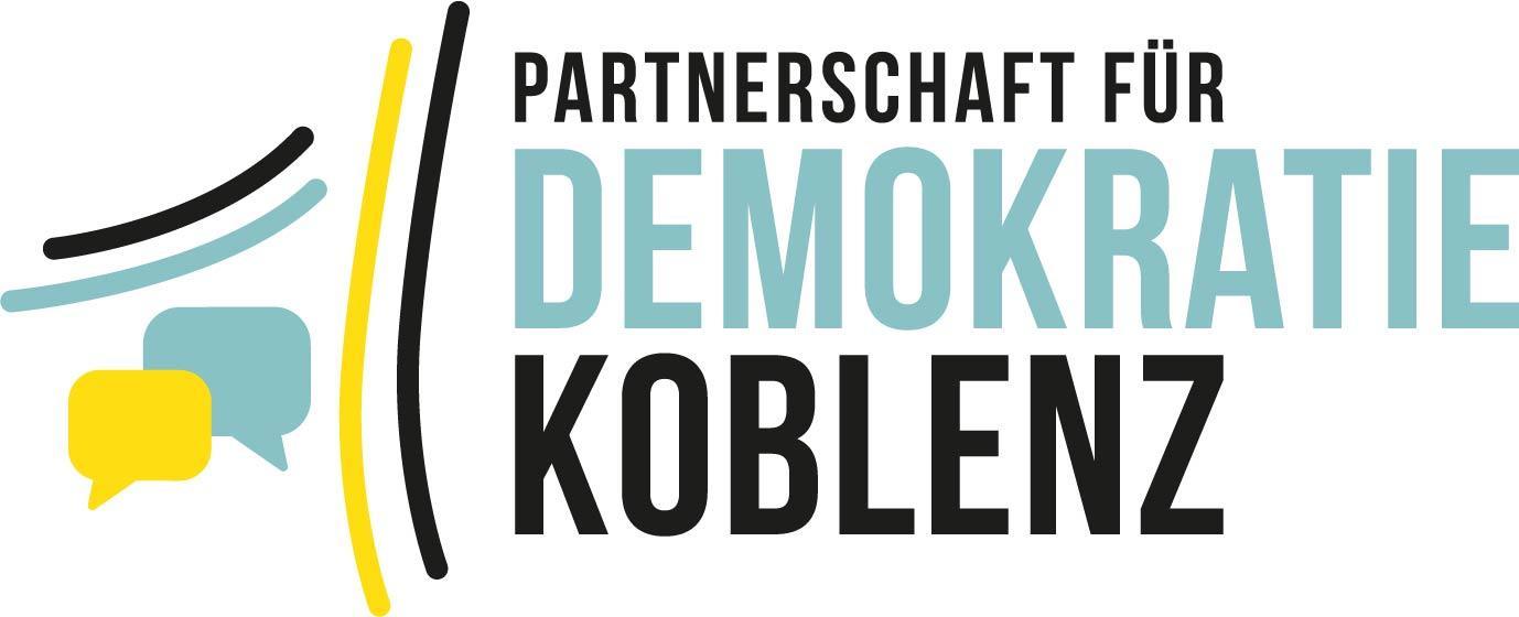 Logo Partnerschaft für Demokratie Koblenz