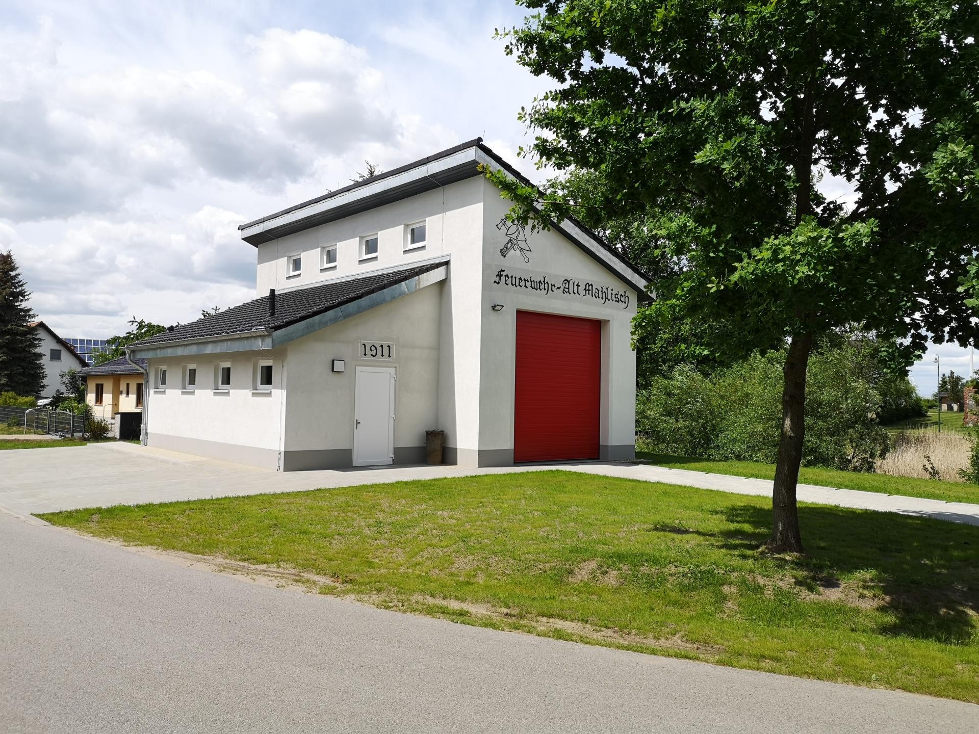 Gerätehaus Alt Mahlisch