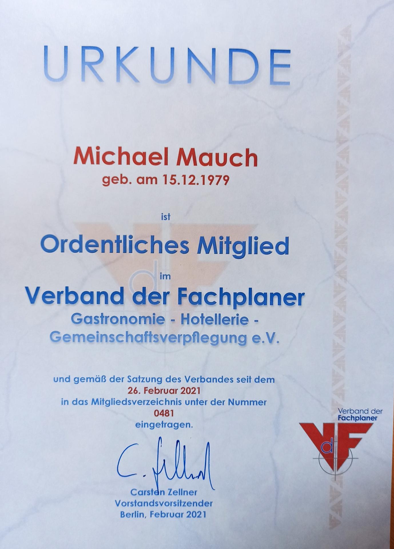 VdF Michael Mauch