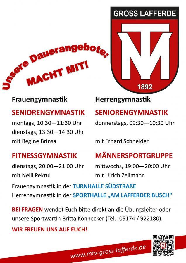 Damen- und Herrengymnastik (Stand: 01/2020)