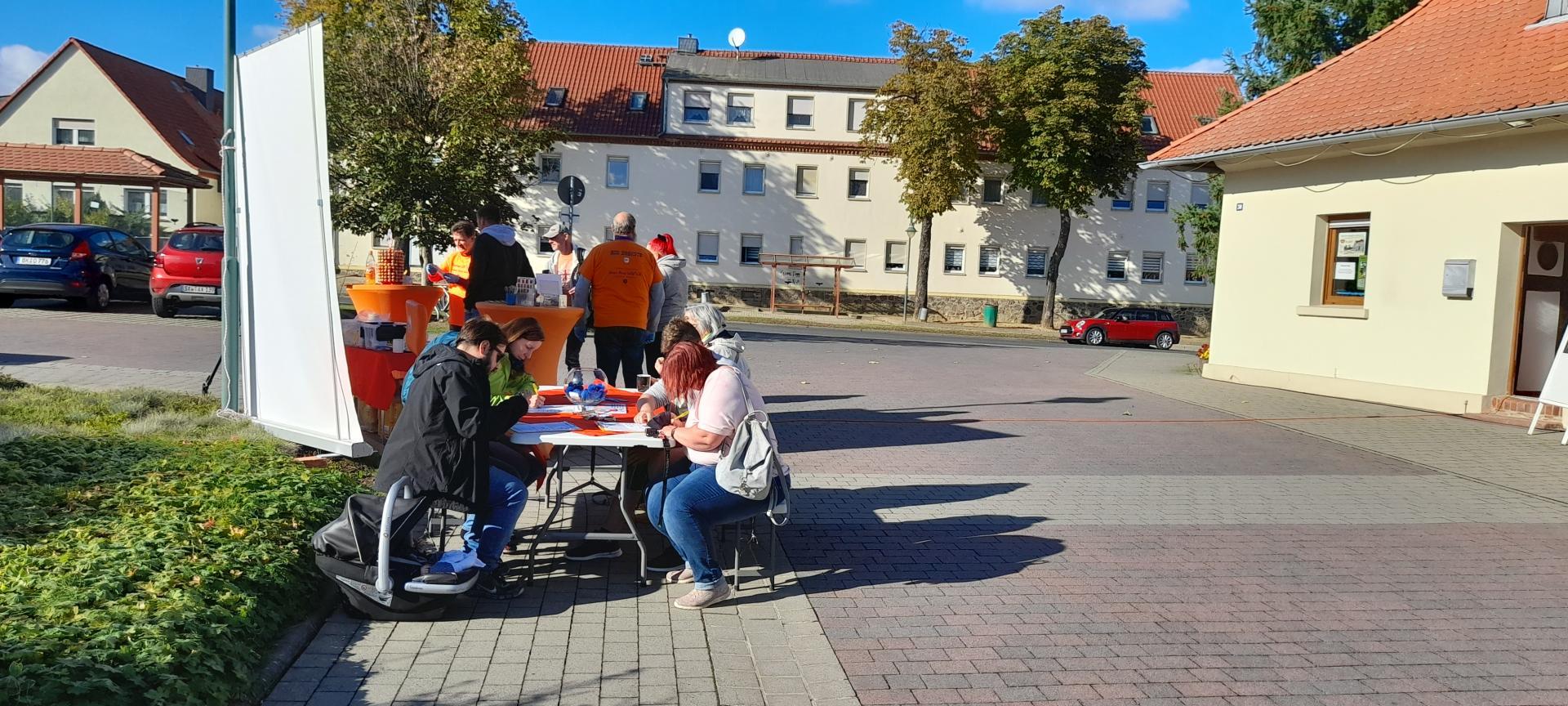 Typisierung für Helene in Rogätz am 12. Oktober