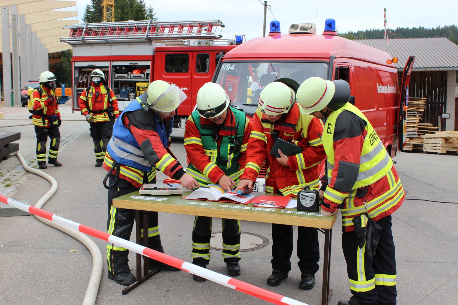 Gefahrgutübung Breitnau 2017